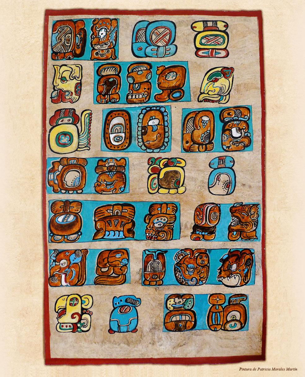 Calendario Solar Maya.El Sistema De Calendario Viviendo El Tiempo Maya
