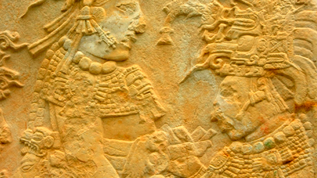 Bonampak living maya time for El mural de bonampak