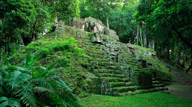 Green foliage and moss cover the ancient buildings. Abandoned for nearly 1200 years, many of the structures are in excellent condition, giving this city an aura of stepping into the ancient past.&nbsp;<span class='italic'>Photo Credit:&nbsp;Julián Cruz Cortés</span>